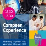 Compaen Experience: open lesmiddag 15 jan & 5 feb